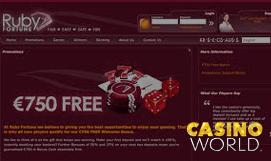 ruby fortune mobile casino onlinegamblingcasinobonus.com